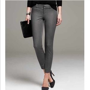 Banana Republic Sloan Pants Dark Grey—8